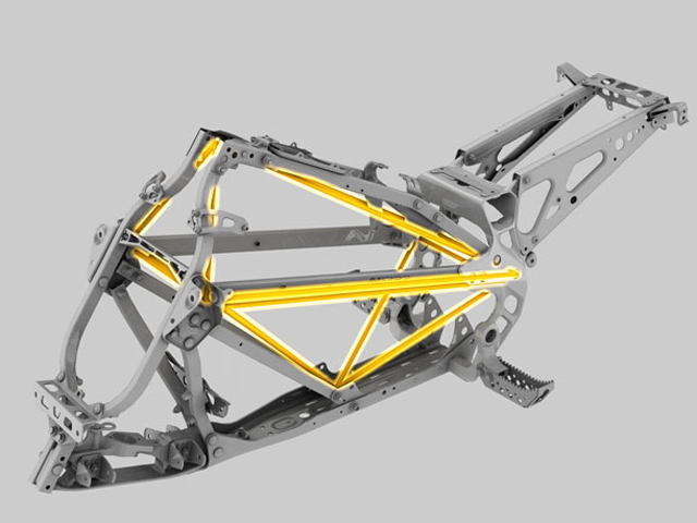 Can Am DS450 frame