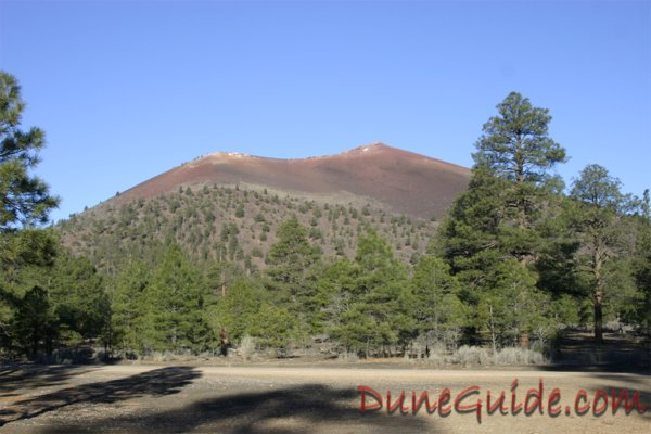 Cinder Hills - View of Sunset Crater