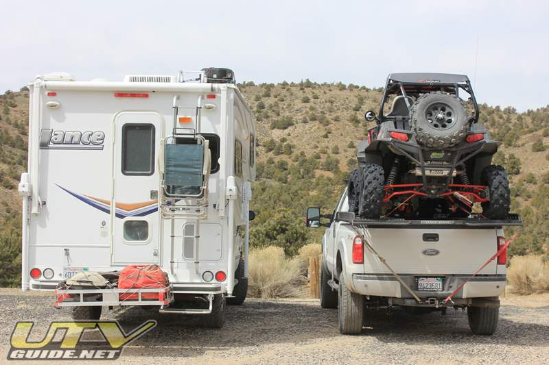 UTV Truck Rack vs. Cab Over Camper