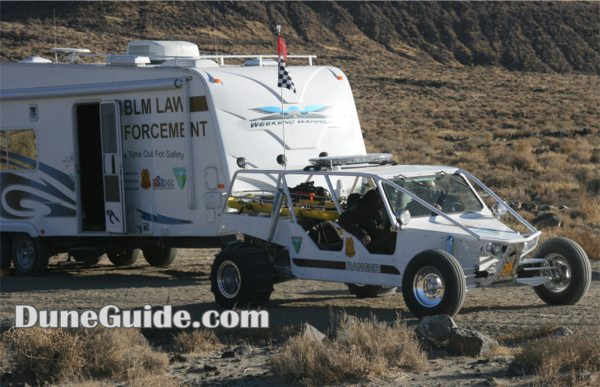 BLM Law enforcement & rescue buggy